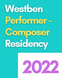 poster for Support the Performer Composer Residency Program