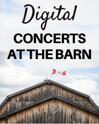 poster for Donation: Digital Concerts At the Barn 2021